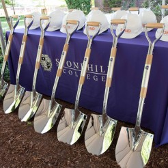 College Breaks Ground on Academic & Welcome Center